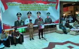 Gubernur Kalteng Tinjau Pelaksanaan Rapid Test Massal di Kotim