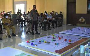21 Pos Pengamanan Disiapkan untuk Pelaksanaan PSBB di Kapuas