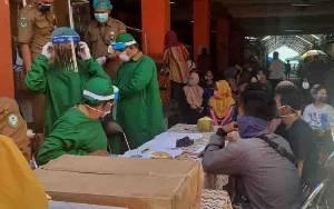 Hasil Rapid Test Massal di Pasar Umar Hasyim Samuda, 6 Orang Reaktif