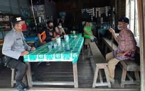 Polsek Pulau Petak Terus Sosialisasikan Pencegahan Covid-19 ke Warga