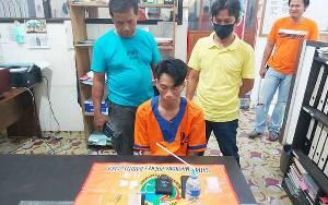 Warga Kelurahan Melayu Ditangkap karena Sabu 11,48 Gram