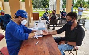 Hari Ini 19 Pedagang di Pulang Pisau Ikuti Rapid Test