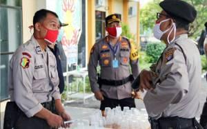 Polresta Palangka Raya Tes Urine Anggota