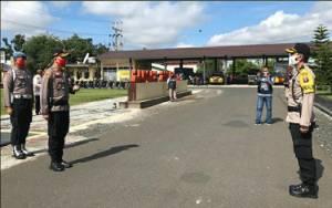 Selama PSBBSopir Logistik Melintas di Perbatasan Kapuas akan Dirapid Test Gratis