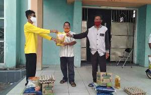 Kelurahan Mendawai Distribusikan Bansos Kabupaten Tahap Kedua