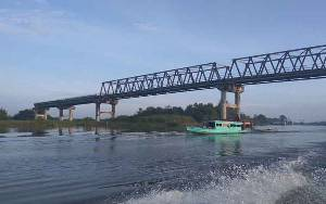 Pemkab Sukamara Harapkan Pembangunan Jembatan Jelai Tetap Dikerjakan Tahun ini