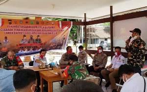 Polsek Kahayan Hilir Laksanakan Deklarasi dan Penandatanganan Komitmen Lawan Karhutla