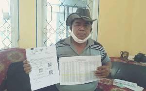 Ketua RT di Nanga Bulik Ini Bingung Banyak Penerima BST Tidak Sesuai Usulan