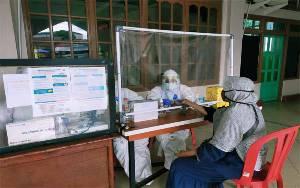 Hasil Rapid Test Massal di Pasar Sejumput Tidak Ada yang Reaktif