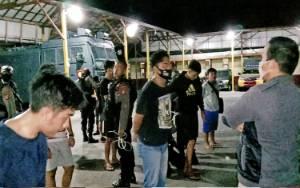 Polisi Gagalkan Puluhan Anak Muda Hendak Tawuran di Palangka Raya