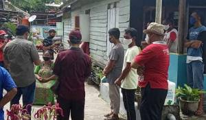 Wabup Kobar Lakukan Pendekatan Persuasif, Keluarga Positif Covid-19 Bersedia Jalani Karantina di RSSI