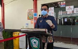 5 Orang di Pasar Umar Hasim Samuda yang Reaktif Rapid Test Dinyatakan Positif Covid-19