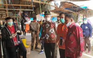 Wakil Bupati Bartim Kunjungi Pasar Ampah, Ini yang Dilakukan