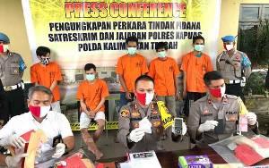 Polres Kapuas Ungkap 23 Kasus Narkoba Selama 6 Bulan