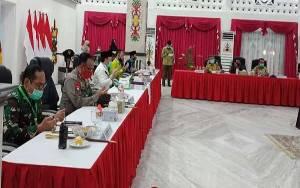 Gubernur Kalteng Pimpin Rakor Bahas Pilkada Serentak 2020