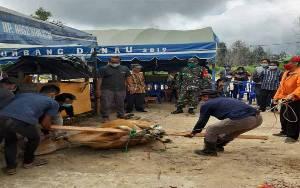 Babinsa Koramil Sepang Hadiri Ritual Menyanggar PT HPL Bersama Masyarakat Desa Dahian Tambuk