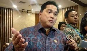 Erick Thohir Rombak Jajaran Direksi dan Komisaris Hutama Karya