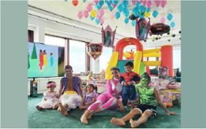 Ronaldo Pakai Kostum Aladdin Saat Rayakan Ulang Tahun Si Kembar