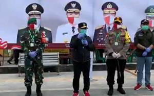 Gubernur Kalteng Tinjau Rapid Test Masal di Kotawaringin Barat