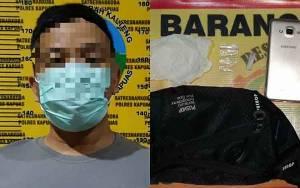 Satresnarkoba Polres Kapuas Tangkap Laki-Laki Ini karena Bawa Sabu
