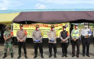 Wakapolda Kalteng: Kalau Ada Warga Tidak Gunakan Masker Jangan Dibentak