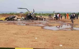 Helikopter TNI AD Jatuh, 4 Penumpang Tewas