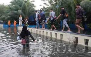 Peneliti Sebut Banjir Rob di Utara Jawa Bukan Akibat Gerhana