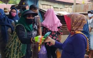 Pedagang dan Pengunjung Pasar Kanamit Diimbau Ikuti Protokol Kesehatan