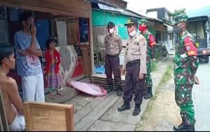 Menuju New Normal, TNI-Polri Sosialisasikan kepada Masyarakat Kuala Kurun