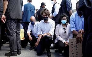 Demonstrasi Bela George Floyd Bergulir di Eropa dan Asia