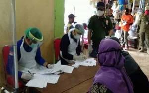 Tim Masih Tunggu Hasil Swab 8 Warga Samuda, Sementara di Pasar Parenggean 7 Orang Reaktif Rapid Test