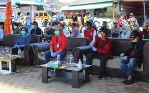 Gubernur Kalteng Tinjau Rapid Test Massal di Pasar Karang Mulya Kobar