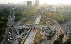 Kendati Pandemi, Proyek Infrastruktur di Surabaya Jalan Terus