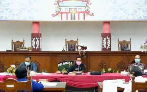 Pansus I DPRD Palangka Raya Rapat Finalisasi Raperda Retribusi