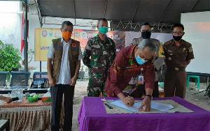 Kecamatan Seruyan Raya Sosialisasi Antisipasi Karhutla