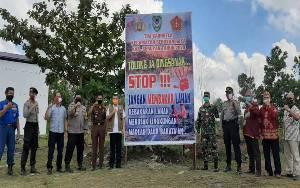 Warga Kecamatan Seruyan Raya Dikenalkan Cara Olah Lahan Tanpa Bakar