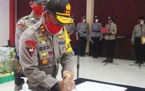 Kapolda Kalteng Pimpin Serah Terima Jabatan Kepala Bidang Keuangan