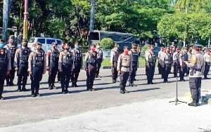288 Personel Gabungan Ikuti Apel Kesiapsiagaan Penanganan Covid-19 di Palangka Raya