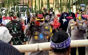 Kapolda Kalteng Puji Kelestarian Cagar Budaya Rumah Betang Bintang Patendu Katingan