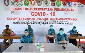 TP PKK Seruyan Ikuti Halal Bihalal Secara Virtual