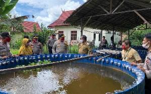 Eka Bahurui Dipilih Jadi Desa Pantang Mundur Polres Kotawaringin Timur