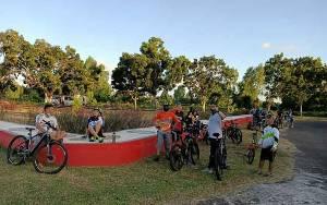 Bersepeda Jadi Olahraga Tren di Kuala Pembuang