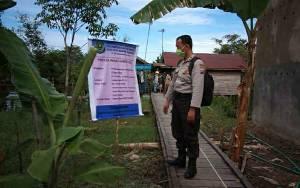 Polsek Kapuas Timur Monitor Penggunaan Dana Desa Anjir Mambulau Barat