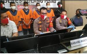 Polres Pulang Pisau Ungkap Maling 21 Laptop Sekolah di Sebangau Kuala