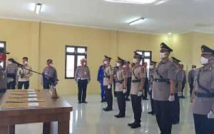 Kapolres Kapuas Pimpin Sertijab Sejumlah Pejabat Utama dan 1 Kapolsek