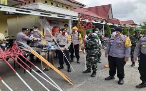 TNI-Polri di Gunung Mas Siaga Karhutla