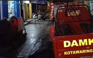 Salon Kecantikan di Kelurahan Raja, Nyaris Hangus Terbakar