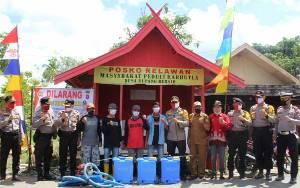 Kapolres Barito Timur Cek Kesiapan Kampung Tangguh