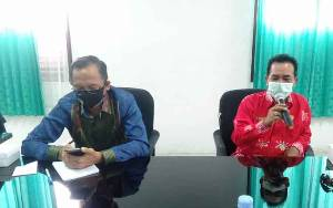 Komisi C DPRD Palangka Raya Kunjungan Kerja ke Dinas Kesehatan Bahas Penanganan Covid-19