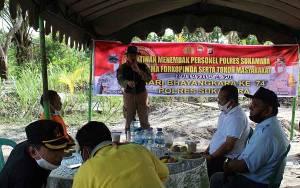 Pemkab Sukamara Apresiasi Lapangan Tembak Polres Sukamara